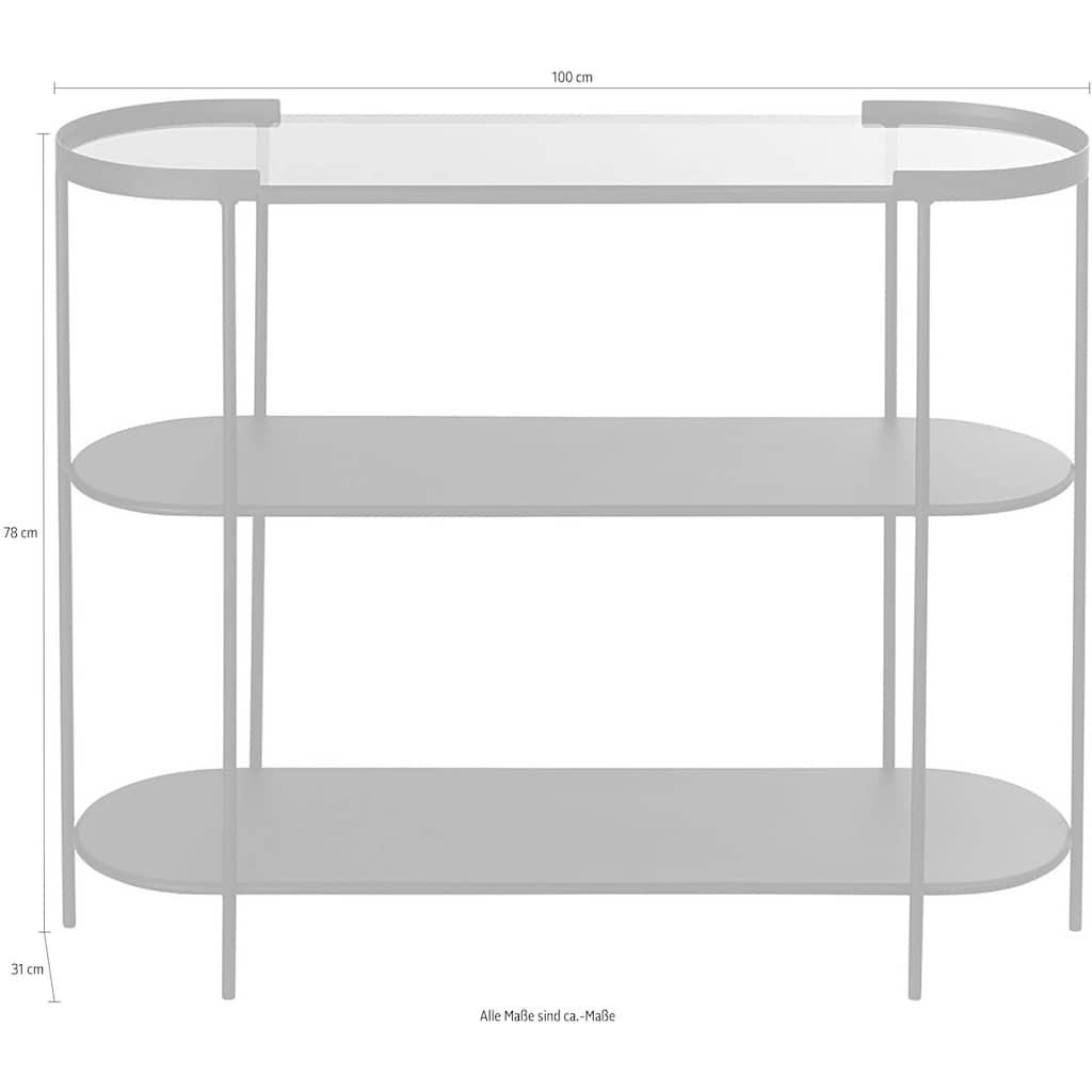 Schneider Standregal »Konsole Ranja«, Konsolentisch mit 3 Ablageflächen