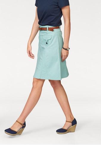 Aniston CASUAL Jeansrock, mit figurfreundlichen Teilungsnähten kaufen
