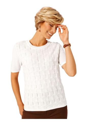 Classic Basics Pullover mit stilvollem Ajourmuster im Vorderteil kaufen