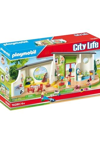Playmobil® Konstruktions-Spielset »KiTa Regenbogen (70280), City Life«, ; Made in Germany kaufen