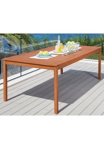 MERXX Gartentisch »Montana« kaufen