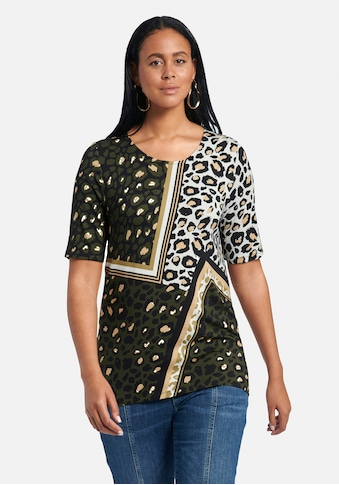 Emilia Lay Rundhalsshirt »Rundhals-Shirt mit 1/2-Arm«, und Animal-Print kaufen