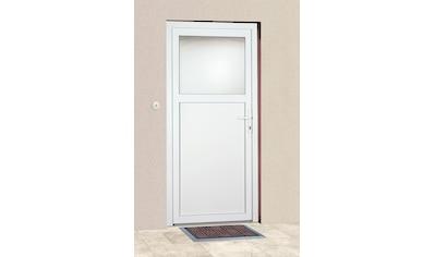 KM Zaun Haustür »K601P«, BxH: 98 x 198 cm, weiß, in 2 Varianten kaufen