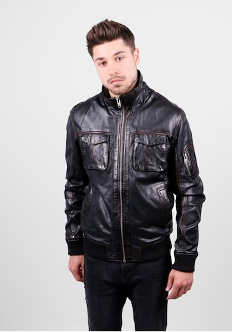 Freaky Nation Lederjacke »Co - Pilot - FN« kaufen