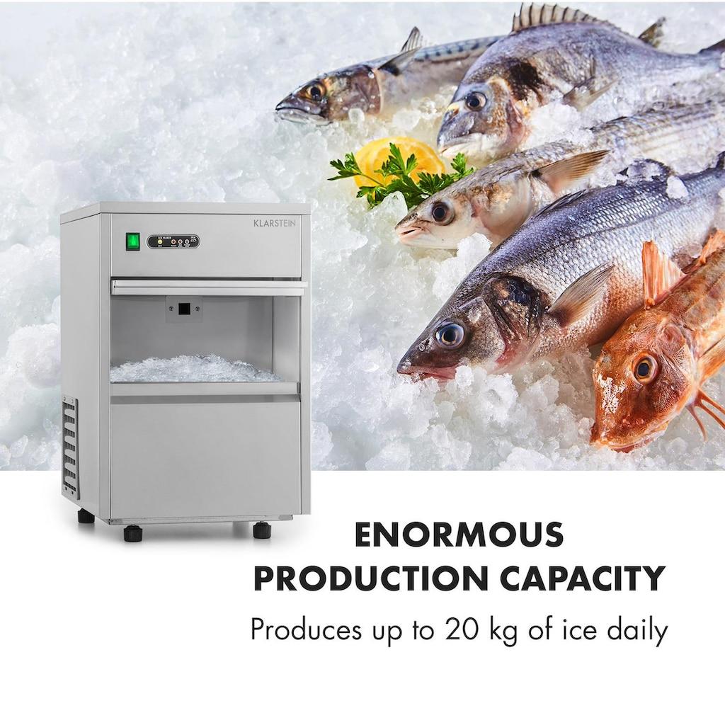 Klarstein Frostica Eiswürfelmaschine Flake Ice Maker 20kg/24h Ed »Frostica«