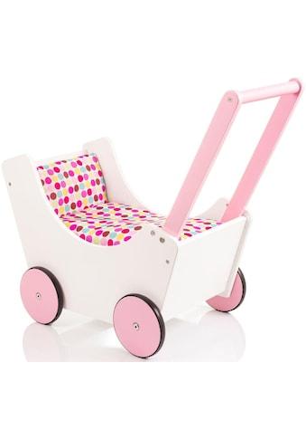 Sun Puppenwagen »Speedy Pünktchen weiß«, aus Holz kaufen