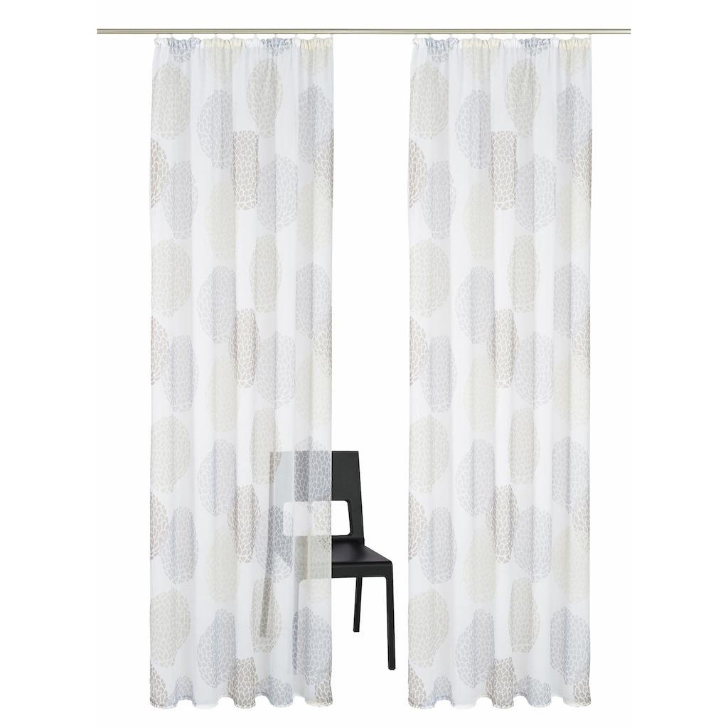 my home Gardine »Belem«, Vorhang, Fertiggardine, transparent