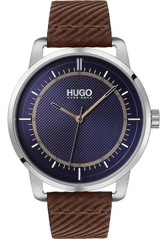HUGO Quarzuhr »#REVEAL, 1530100« kaufen
