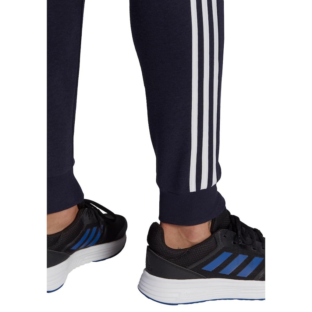 adidas Performance Jogginghose »ESSENTIALS SLIM 3 STRIPES PANTS«