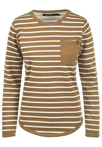 Blendshe Sweatshirt »Christin«, Sweatpullover mit Streifen kaufen