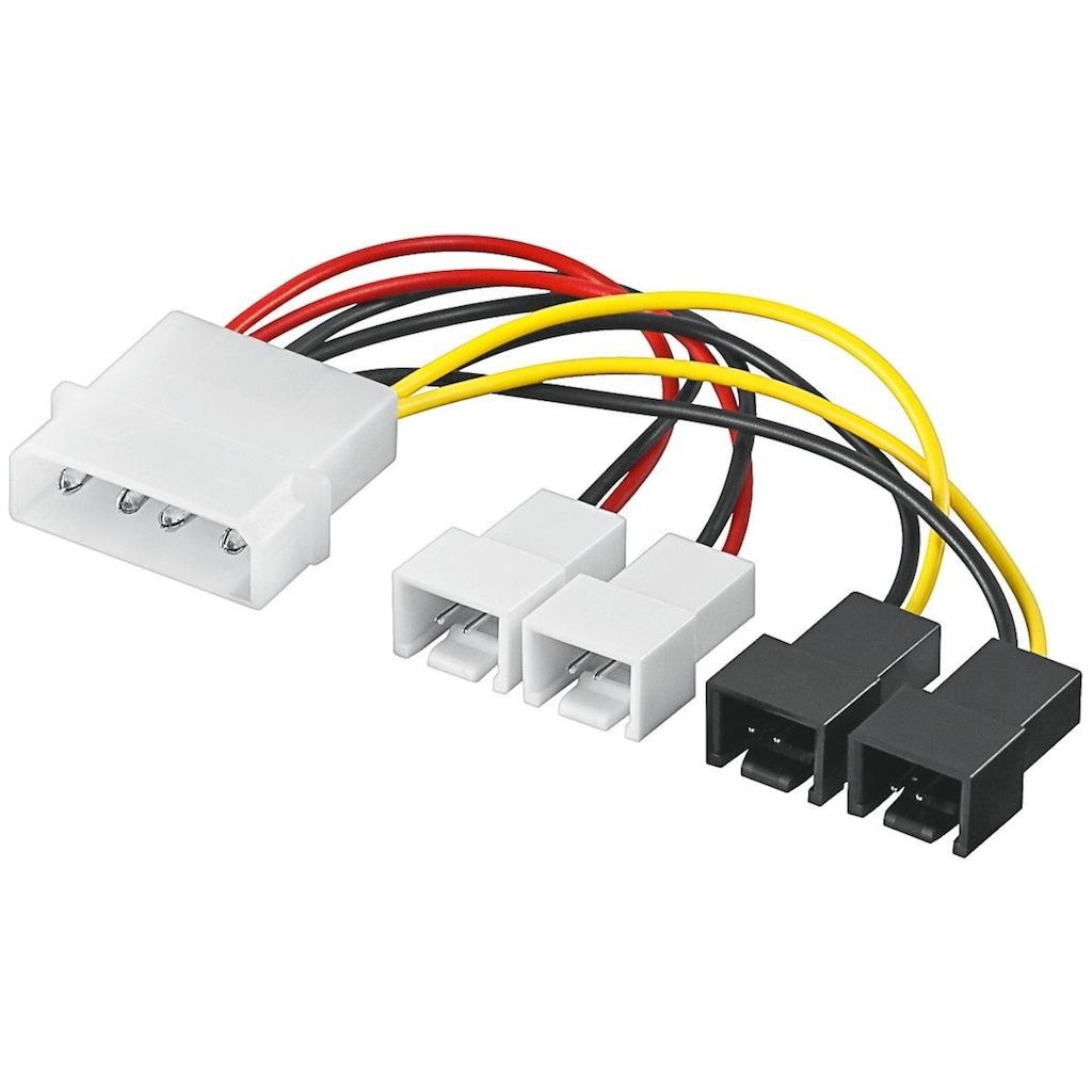 Goobay PC Lüfter Stromkabel/Stromadapter