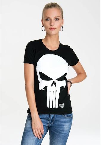 LOGOSHIRT T-Shirt »Punisher«, mit lizenziertem Originaldesign kaufen