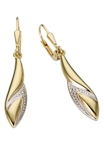 Firetti Paar Ohrhänger »Glanz, bicolor« kaufen