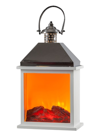 HGD Holz-Glas-Design LED-Holz-Edelstahlkamin mit Kamineffekt für Netzbetrieb mit Time kaufen