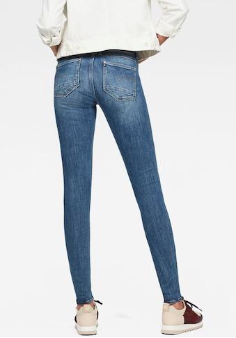 G - Star RAW Skinny - fit - Jeans »Lynn Mid Super Skinny« kaufen