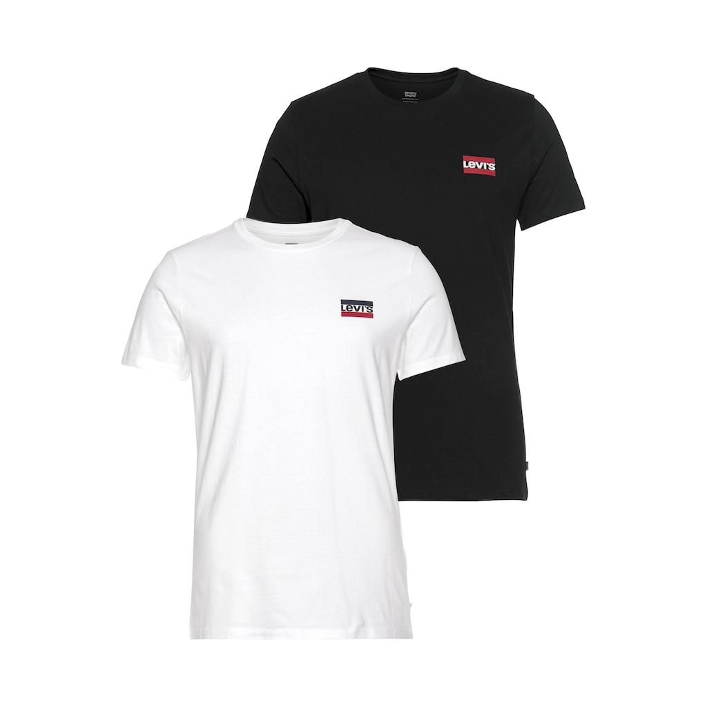 Levi's® T-Shirt, mit Marken-Label