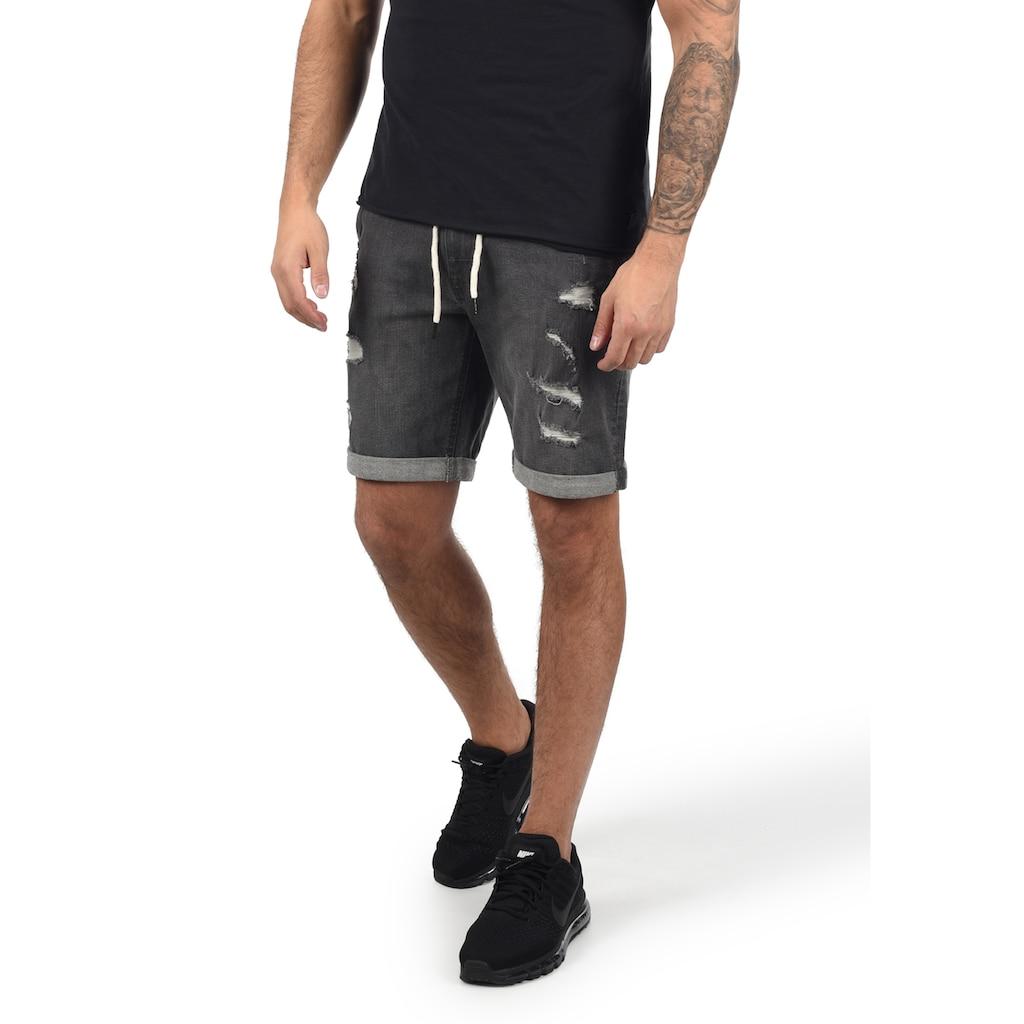 Blend Jeansshorts »Dallian«, kurze Hose mit Kordeln