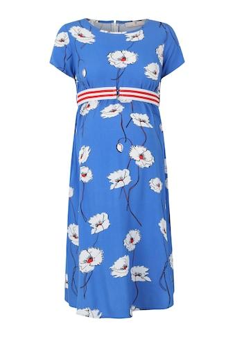 Bellybutton Umstandskleid kurzärmlig mit Blumenprint kaufen