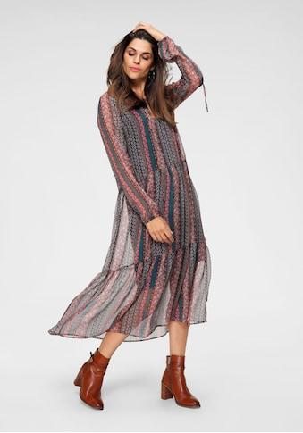Herrlicher Chiffonkleid »MAXIMA«, im Hippie Stil kaufen