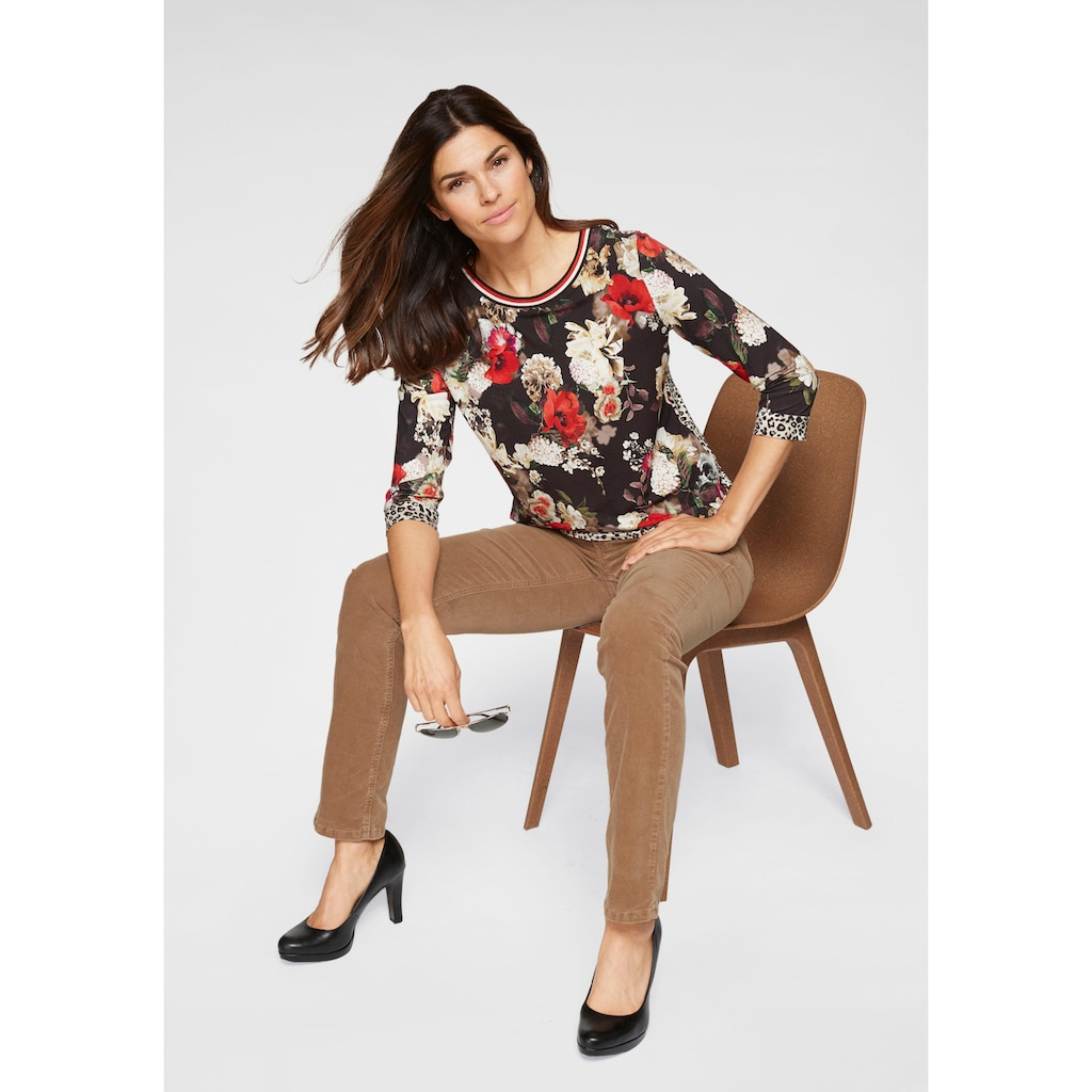 MAC Gerade Jeans »New Angela Corduroy«, Die Angela in angesagter Cord-Qualität
