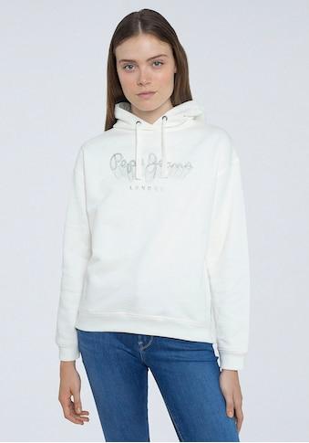 Pepe Jeans Hoodie »ADELE«, mit kreativem Marken-Logo-Druck im Brustbereich kaufen