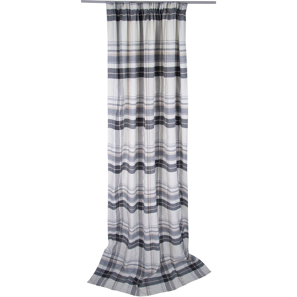 TOM TAILOR Vorhang »Cosy New Check«, HxB: 260x135