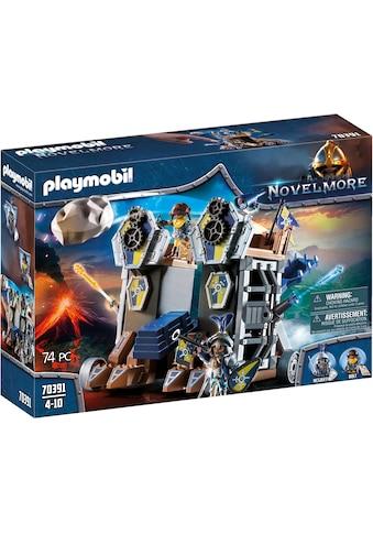"""Playmobil® Konstruktions - Spielset """"Mobile Katapultfestung (70391), Novelmore"""", Kunststoff kaufen"""