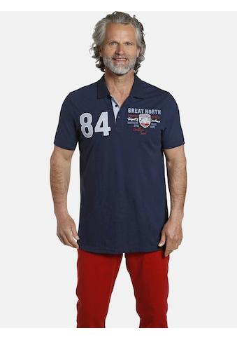 Jan Vanderstorm Poloshirt »CORENZO«, luftiges Baumwoll-Pikee kaufen