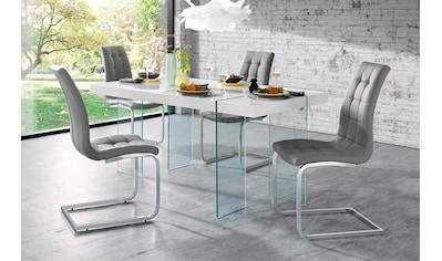 INOSIGN Esstisch »Travis«, Breite 160 cm, Gestell aus Glas kaufen