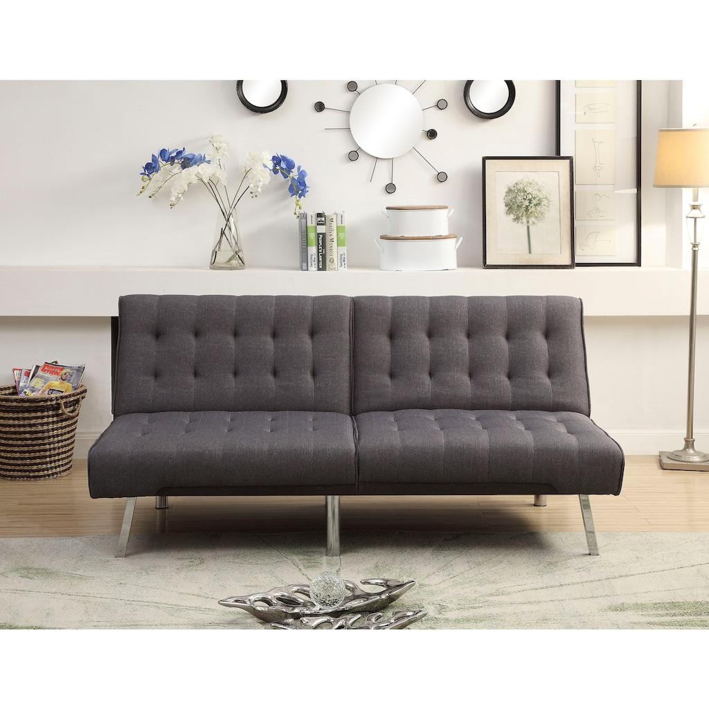 ATLANTIC home collection Sofa, mit verstellbarer Rückenlehne