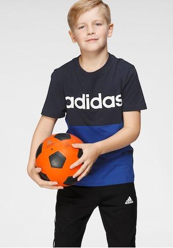 adidas Performance T - Shirt »YOUTH BOY LINEAR CLUB TEE« kaufen