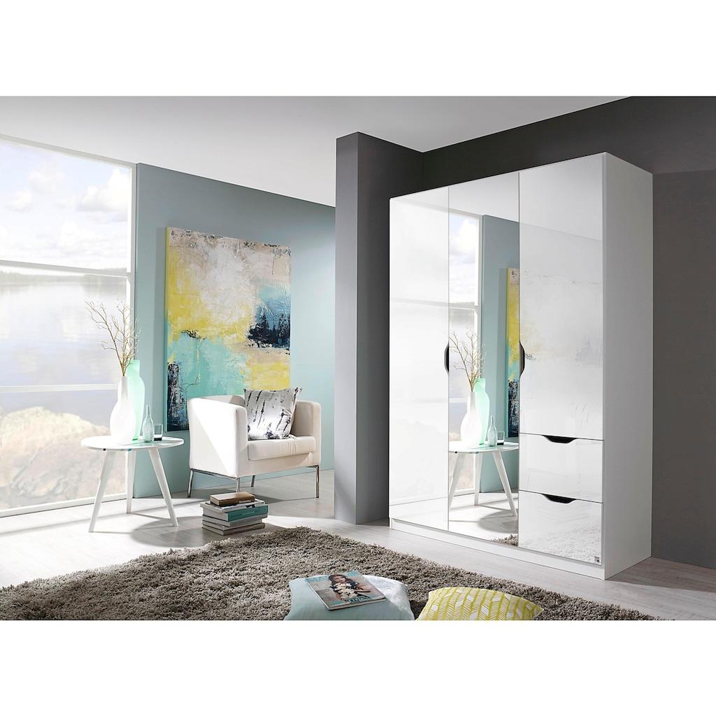 rauch BLUE Kleiderschrank »Freiham«, mit Spiegel und Schubkästen