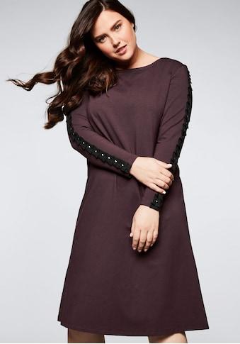 Sheego Jerseykleid, in A-Linie kaufen