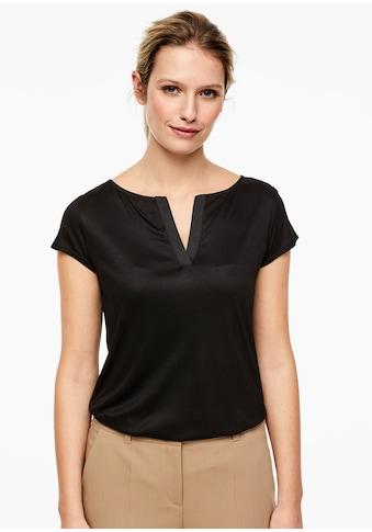 s.Oliver BLACK LABEL Fabric - Mix - Shirt kaufen
