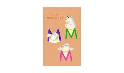 Komar Poster »ABC Animal M«, Buchstaben, Höhe: 70cm kaufen