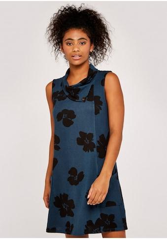 Apricot Druckkleid »Paintbrush Floral Flapneck Dress«, mit Taschen kaufen