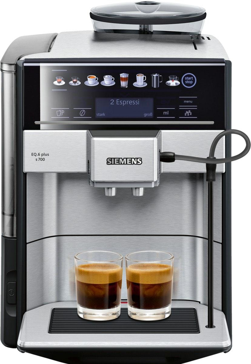 Kaffeevollautomat EQ.6 plus s700 TE657503DE, 1,7l Tank,...