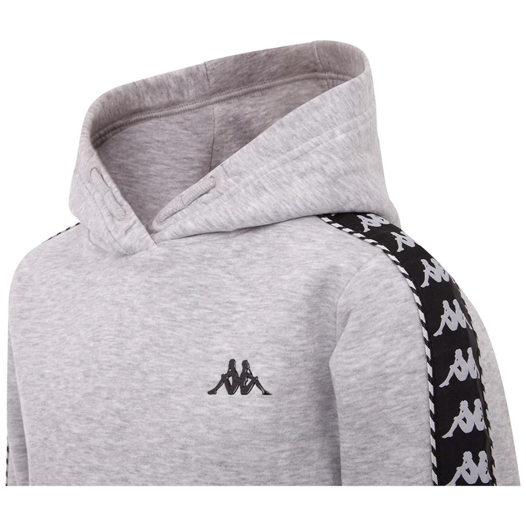 Kappa Kapuzensweatshirt »IGON«, in innen angerauter Sweatqualit&auml;t<br />