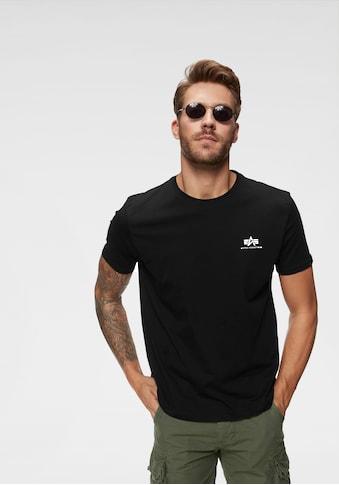 Alpha Industries Rundhalsshirt »BASIC T SMALL LOGO« kaufen