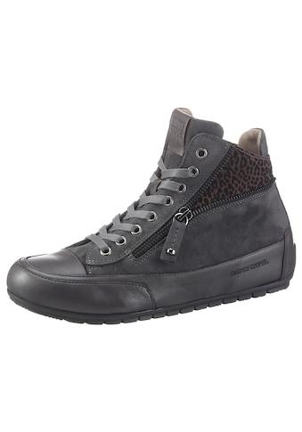 Candice Cooper Sneaker »Beverly«, mit modischem Leo-Einsatz kaufen