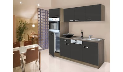 RESPEKTA Küchenzeile »York«, mit E-Geräten, Breite 205 cm kaufen