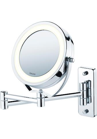 BEURER Kosmetikspiegel »BS 59«, Drehbarer Spiegelfläche und helles LED-Licht kaufen