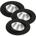 Nordlux LED Einbauleuchte »Freemont 3 Kit«, LED-Board, Warmweiß, 3er Set