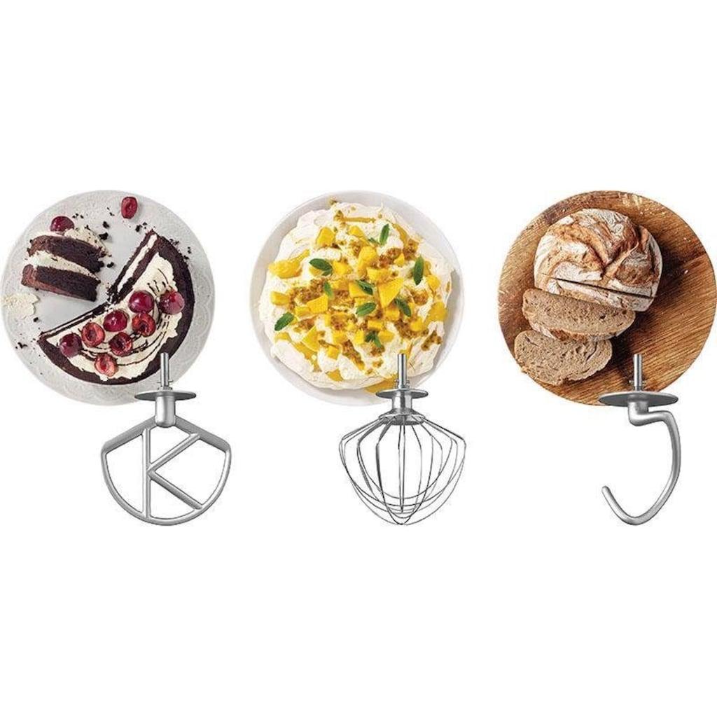 KENWOOD Küchenmaschine »KMX760CH kMix Premium Edition Chrome«, mit 3-tlg. Pâtisserie-Set