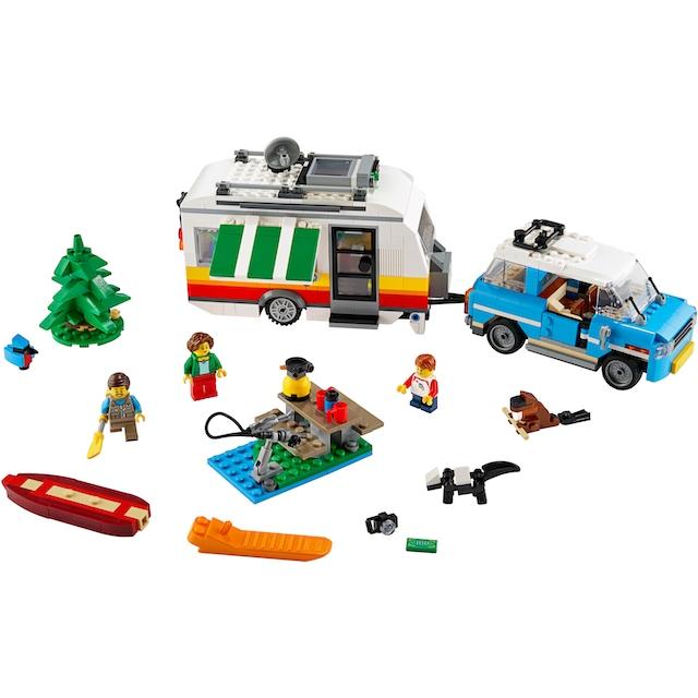 "LEGO® Konstruktionsspielsteine ""Campingurlaub (31108), LEGO® Creator"", Kunststoff, (766-tlg.)"