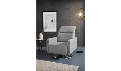 sit&more Drehsessel, inklusive Kopfteilverstellung, mit Federkern kaufen