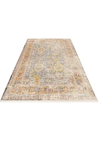 Wecon home Teppich »SoHo Fashion«, rechteckig, 7 mm Höhe, Hoch-Tief-Struktur, Wohnzimmer kaufen