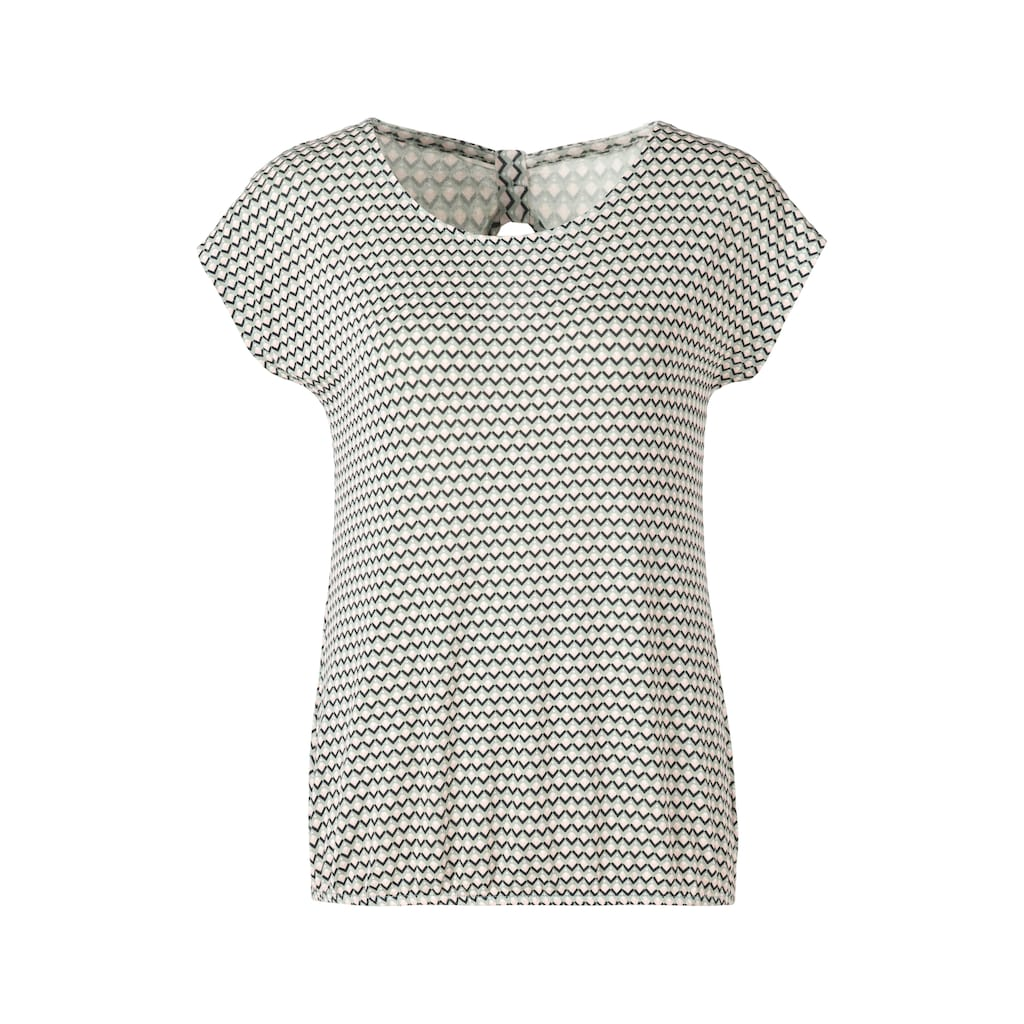Vivance T-Shirt, mit Cut-Out und zarter Raffung im Nacken