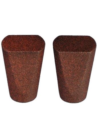 Liedeco Gardinenstangen-Endstück »Dust«, für Gardinenstangen Ø 16 mm kaufen