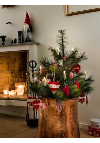 KONSTSMIDE LED Baumbeleuchtung, 5 kleine kabellose weiße Kerzen, Zusatzset kaufen